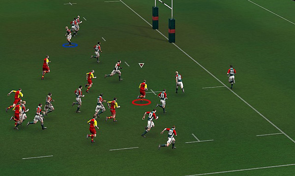 Rugby 05 screenshot