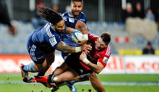 Super Rugby - Crusaders v Blues, 5 July 2014